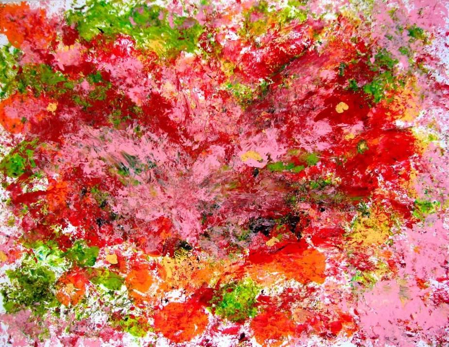 Rose Bush by Elena Bavilskaya
