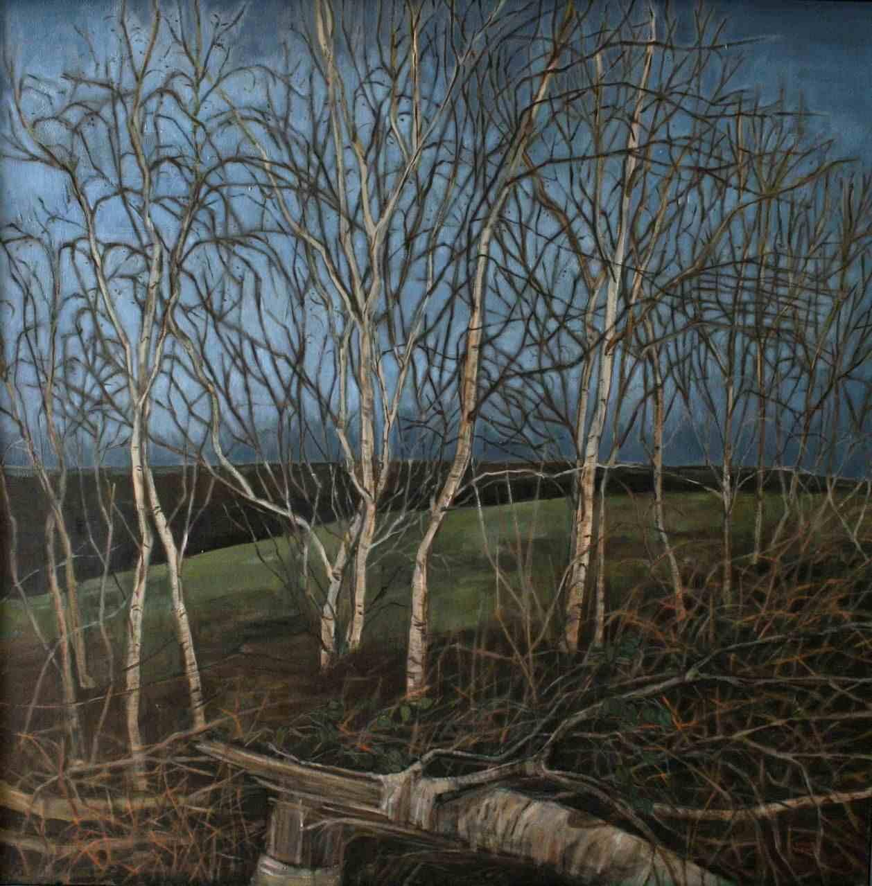 Winter Birch by Sahoko Blake