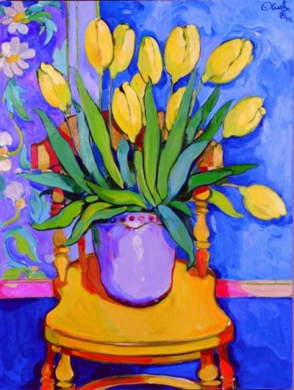 Yellow Tulips by Alush Shima